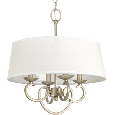Harriss 4-Light Semi Flush Mount