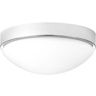 Kieron 1-Light LED Flush Mount Fixture Finish: Polished Chrome