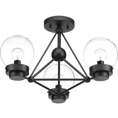 Cecere 3-Light Semi Flush Mount