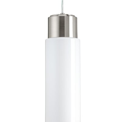 Mcdaniels 1-Light LED Mini Pendant Finish: Brushed Nickel