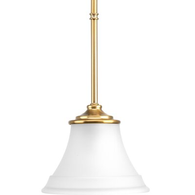 Perot 1-Light Mini Pendant Finish: Brushed Bronze
