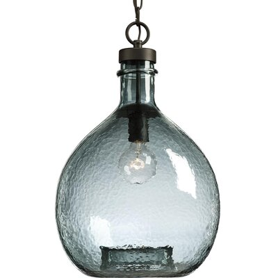 Cedeno 1-Light Globe Pendant Finish: Antique Bronze