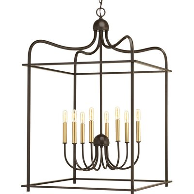 Gaydos 8-Light Foyer Pendant Finish: Antique Bronze