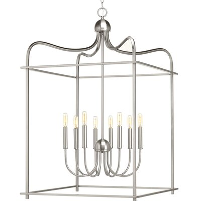 Gaydos 8-Light Foyer Pendant Finish: Brushed Nickel