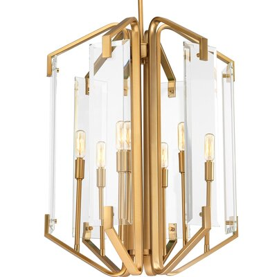 Janessa 6-Light Cluster Pendant