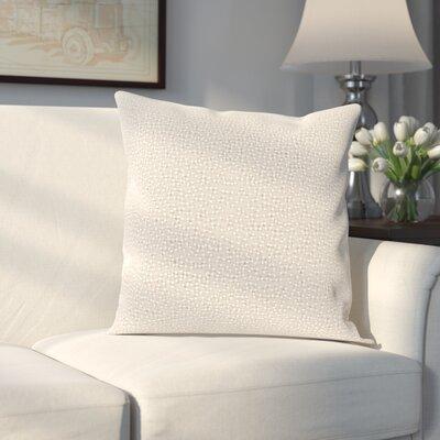 Gaunt 100% Linen Throw Pillow Cover Color: GrayNeutral
