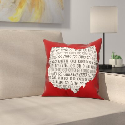 Ohio Go Team Throw Pillow