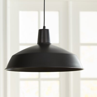Cornelia 16 Industrial Warehouse 1-Light Pendant Features: Hardwire