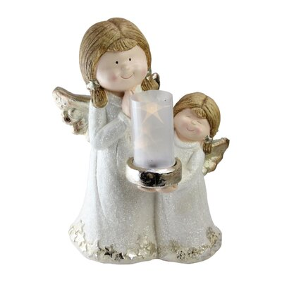 Two Angels Lantern Christmas Decoration Figurine EC830AA9899F4EA8995982E30E2E3491