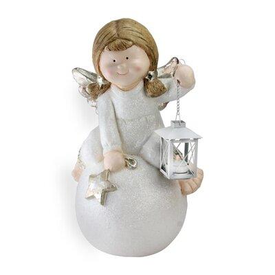 Angel with Lantern Christmas Table Top Decoration Figurine 067BC1DFE017416A81DA810D1DBE1E33