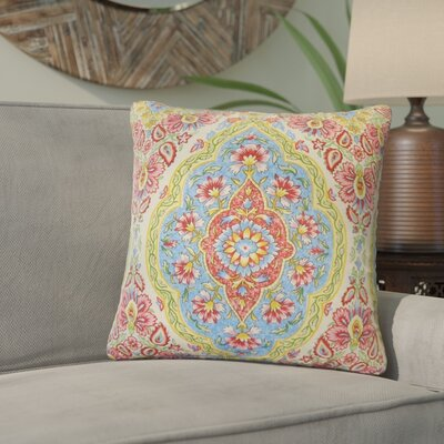 Arrow Drive Floral Throw Pillow