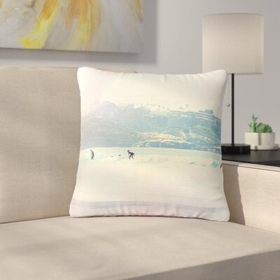 Sylvia Coomes Rainbow I Outdoor Throw Pillow Size: 16 H x 16 W x 5 D