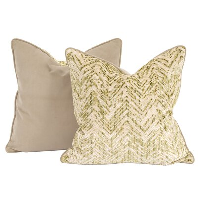 Drumrankin Throw Pillow Color: Willow, Size: 20 x 20