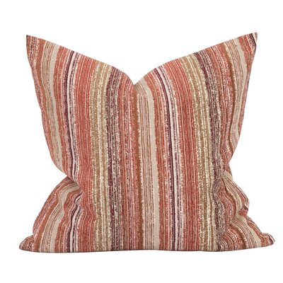 Heffington Throw Pillow Color: Canyon, Size: 24 x 24
