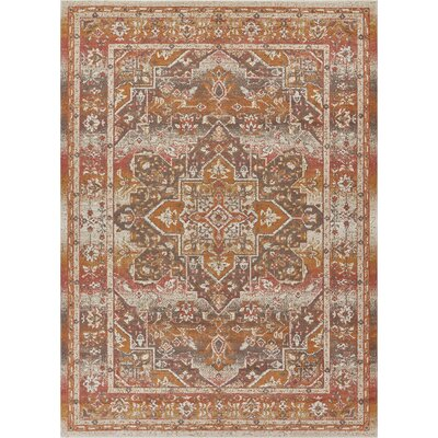 Cortright Beige Area Rug Rug Size: Rectangle 710 x 910