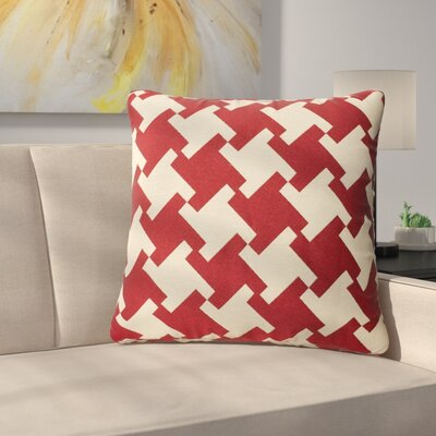 Foster Throw Pillow Color: Red Dahlia