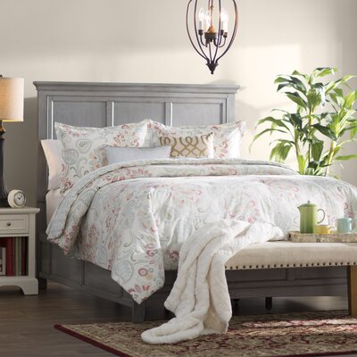 Sefton Queen Panel Bed Color: Antique Gray