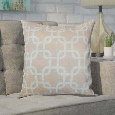 Sessums 100% Cotton Throw Pillow Color: Powder Blue, Size: 20 H x 20 W