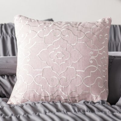Gerrell Linen Pillow Cover Size: 20 H x 20 W x 0.25 D, Color: Pink