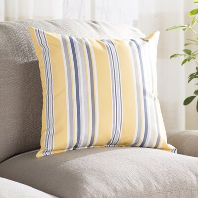 Denning Striped Outdoor Throw Pillow