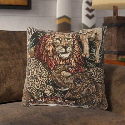 Montgomery Throw Pillow Color: African Safari