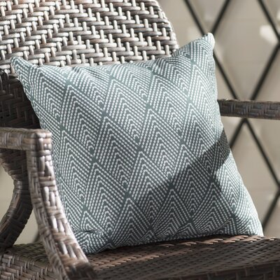 Michiel Outdoor Throw Pillow Size: 16 H x 16 W, Color: Green