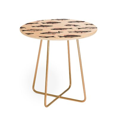 Florent Bodart Fishes in Geometric End Table