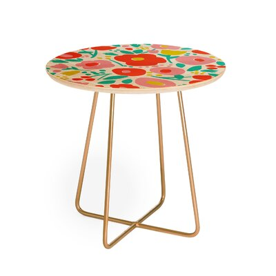 Zoe Wodarz Delightful Floral End Table