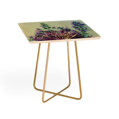 Olivia St Claire Spring Bouquet End Table