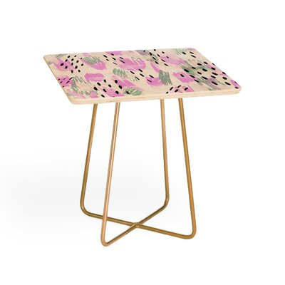 Allyson Johnson Jordan Bold Abstract End Table