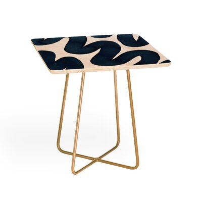 Elena Blanco Swirls End Table