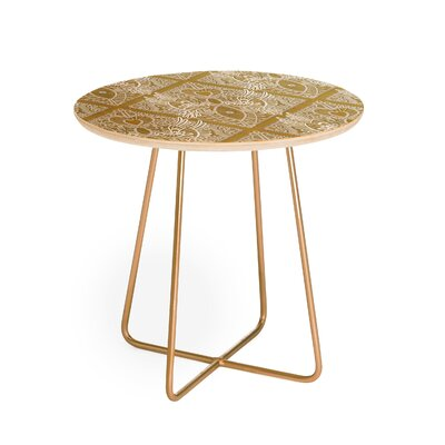 Sharon Turner Love Bird Lace End Table