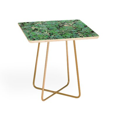 Amy Sia Marble Bubble Mint End Table