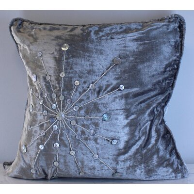 Kinsey Star Burst Velvet Throw Pillow