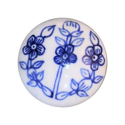 Handpainted Ceramic Mushroom Knob (set Of 4)