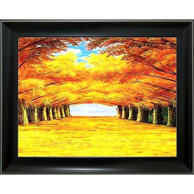 'Fall Season 2' Framed Graphic Art Print C5E4A04B8E1C4C8681363D71EB0071BB