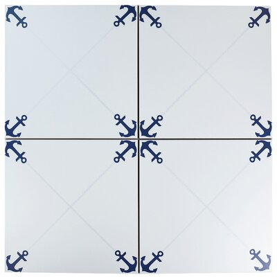 Silvius 12.38 x 12.38 Ceramic Field Tile