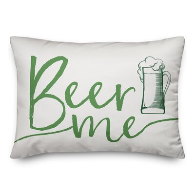 Bledsoe Beer Me Throw Pillow