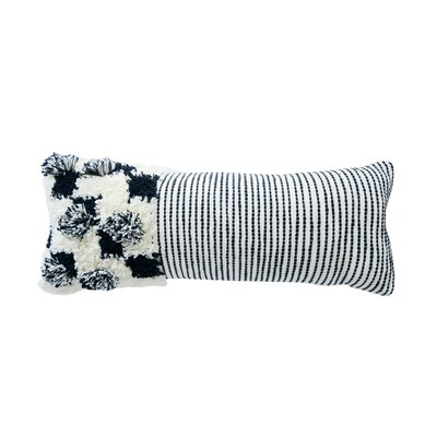 Covert Cotton Lumbar Pillow with Fringe