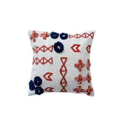 Covarrubias Cotton Throw Pillow
