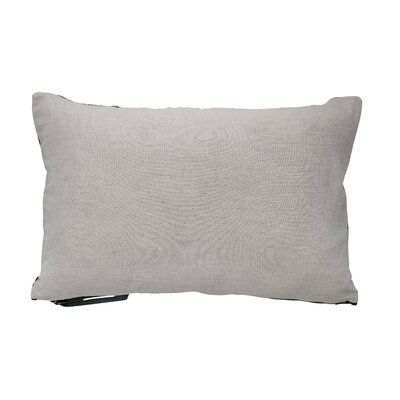 Cozart Leather Quilted Lumbar Pillow