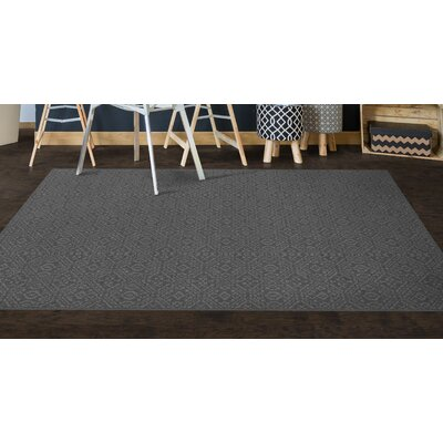 Cragin Gray Area Rug Rug Size: Rectangle 34 x 5