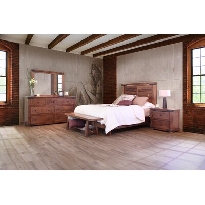 Parota Panel Configurable Bedroom Set