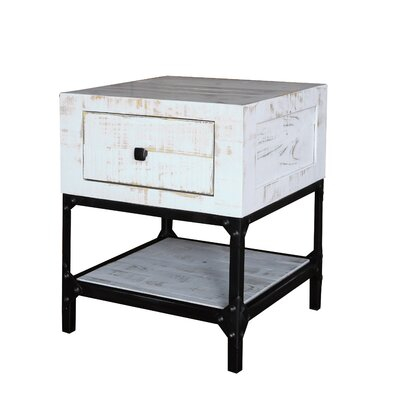 Zendejas 1 Drawer End Table