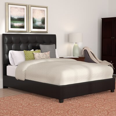 Howell Platform Bed Size: King, Color: Black