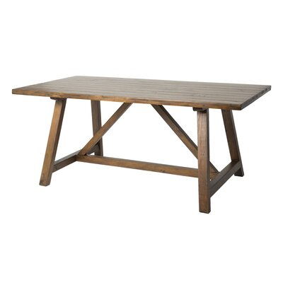 Manges Dining Table Size: 30.1 H x 39.3 W x 86.6 L