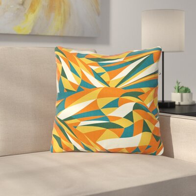 Astro Naive by Danny Ivan Throw Pillow Size: 16 H x 16 W x 3 D