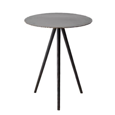 Courtois Iron Cut-Edge End Table
