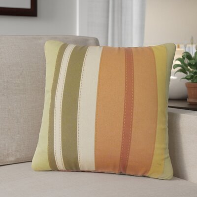 Aarron Striped Cotton Throw Pillow