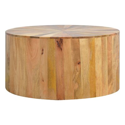 Chickering Round Wooden Coffee Table